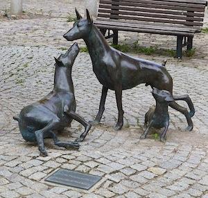 Dobermanndenkmal Apolda