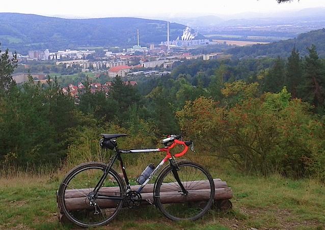 Blick vom Bismarckturm auf Rudolstadt