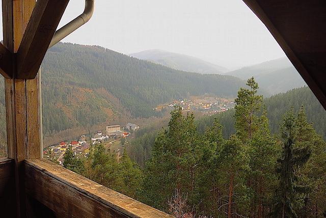 Blick vom Bismarckturm auf Sitzendorf