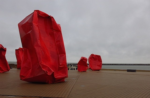 rote installation oostende
